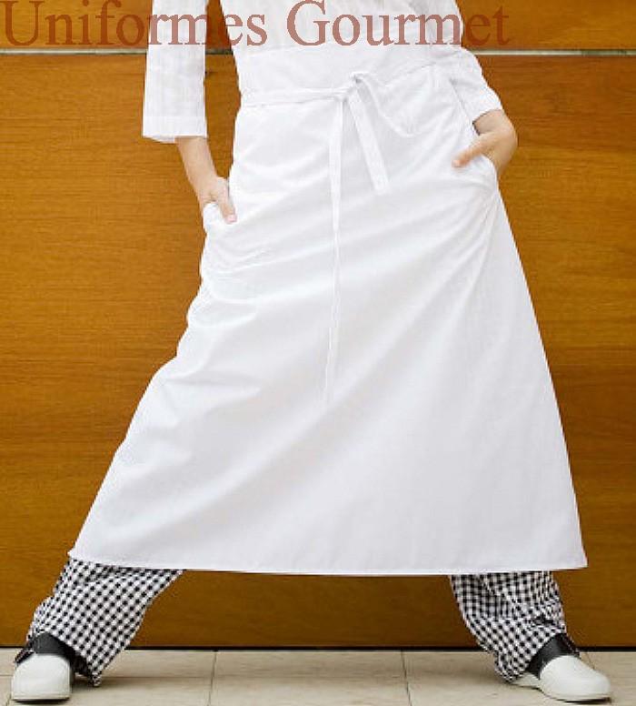 Delantal cocinero franc s uniformes gourmet for Cocinero en frances