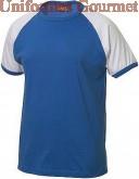 camiseta manga raglan